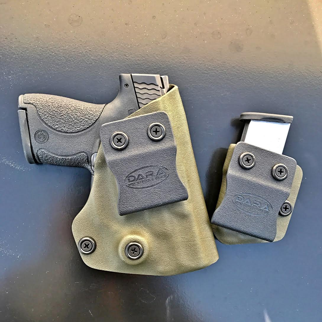 AIWB Holster for Shield with Viridian R5