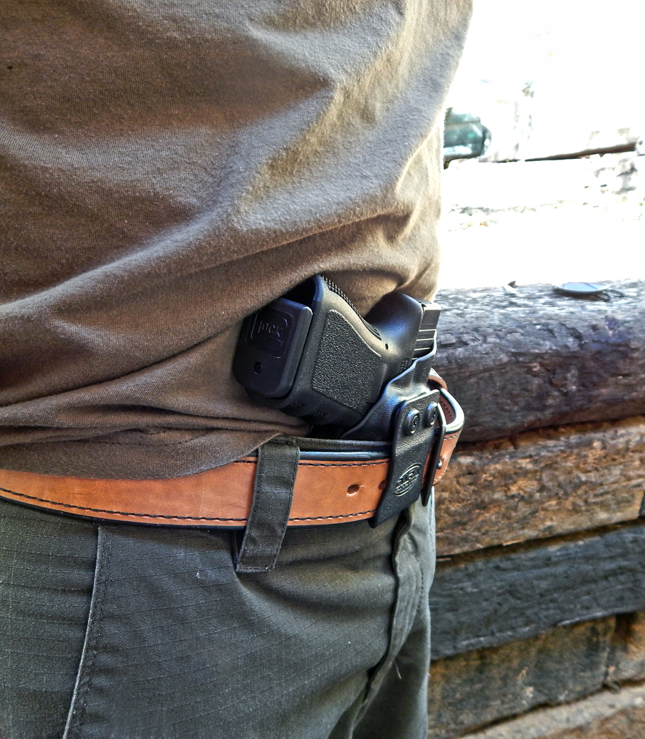 AIWB Holster with Wedge for Appendix Carry
