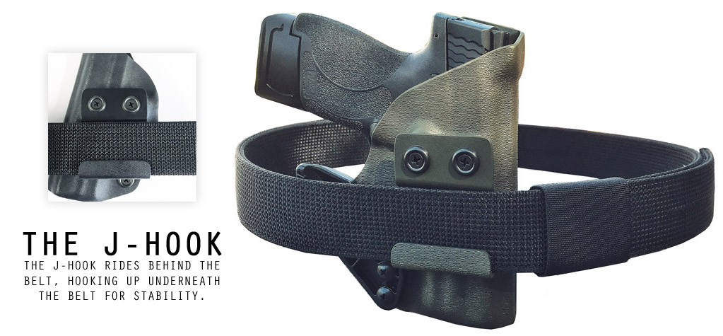 AIWB Holster with Claw and Gun Belt Combo PAckage