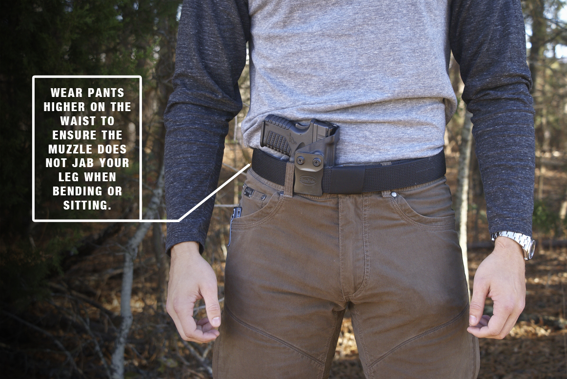 AIWB Holster with Claw