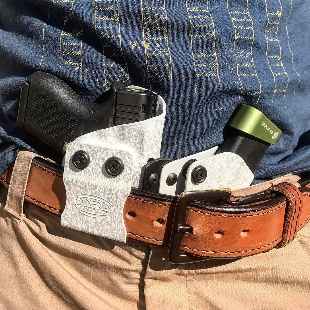 Modular Appendix Holster with Mag Caddy