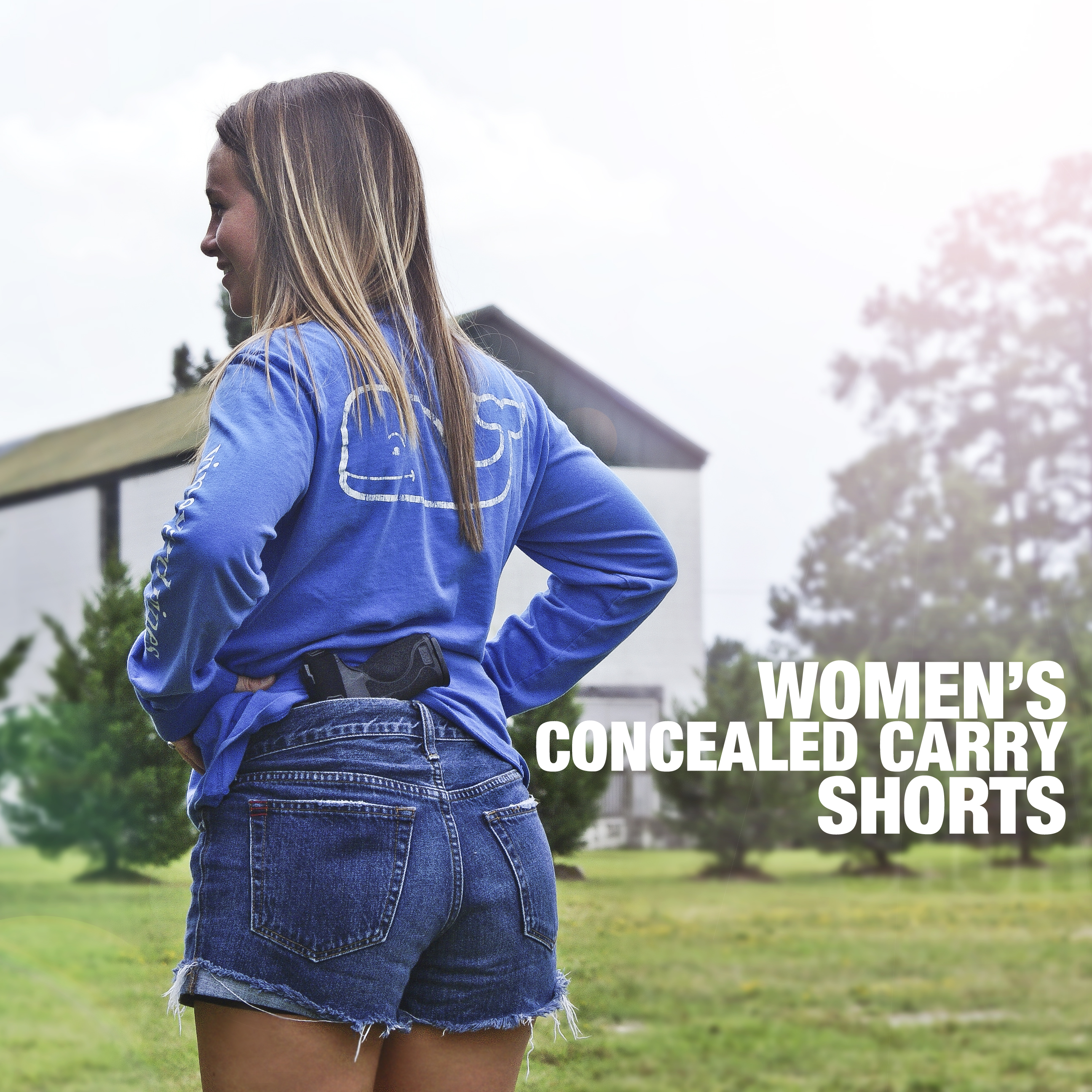 Women's Concealed Carry Shorts