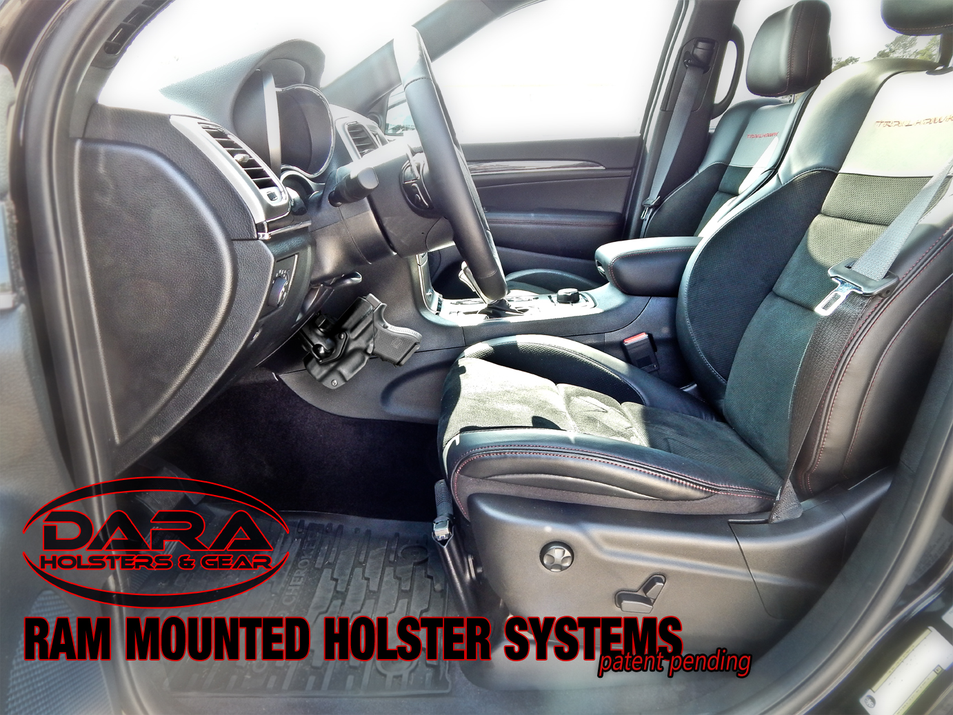 No Drilling Mounted Vehicle Holster