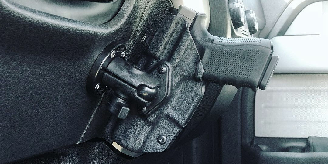 Holster Mounting System - Dashboard Holster