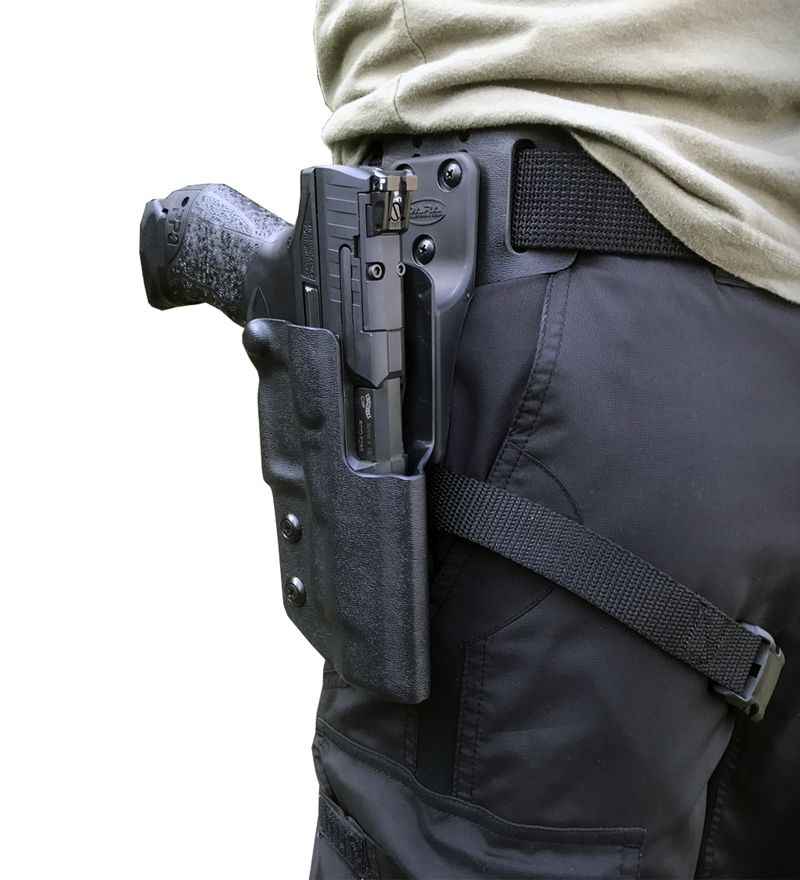 Drop Offset Competition Holster