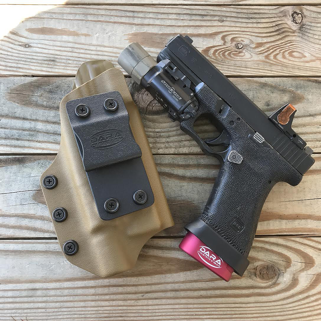 Tuckable Holster fit Red Dot Sight