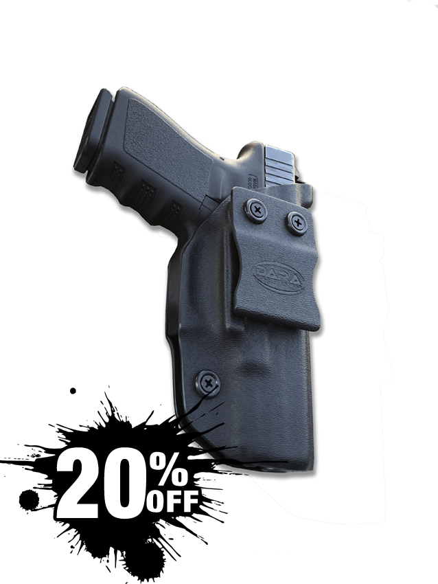 AIWB Holster for Glock 19 with Wedge