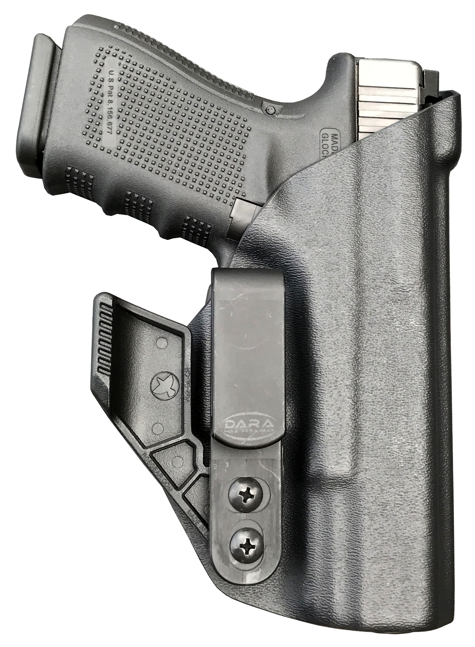 Glock 19 AIWB Slick Side Holster