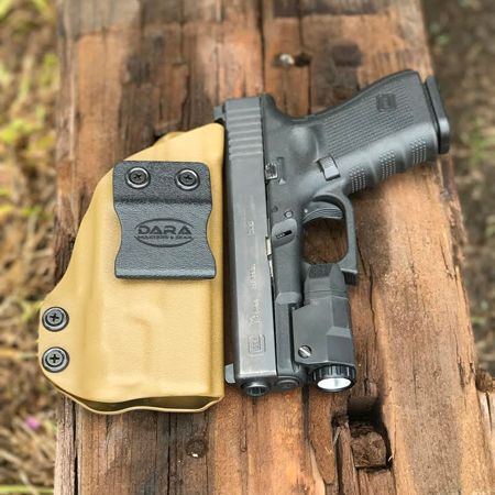 Glock 19 with Inforce APLc IWB Holster