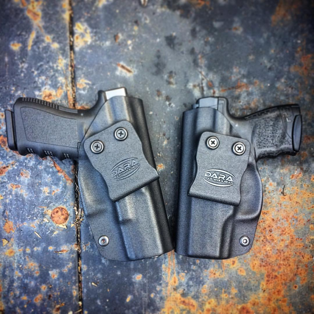 Glock 19 OWB Holster and PPS M2 OWB Holster