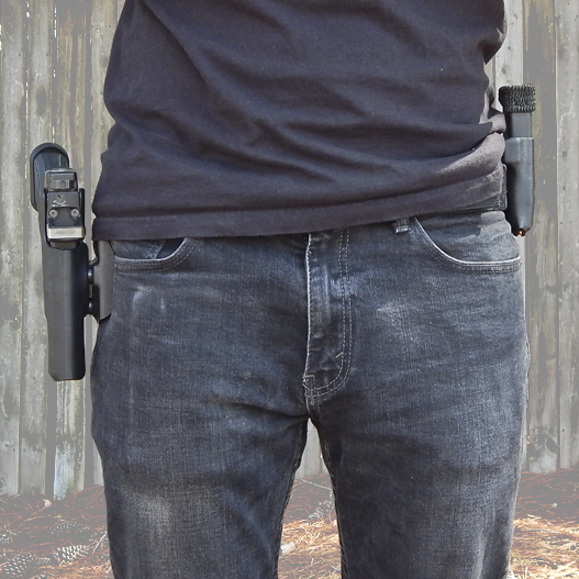 Drop Offset Holster Package