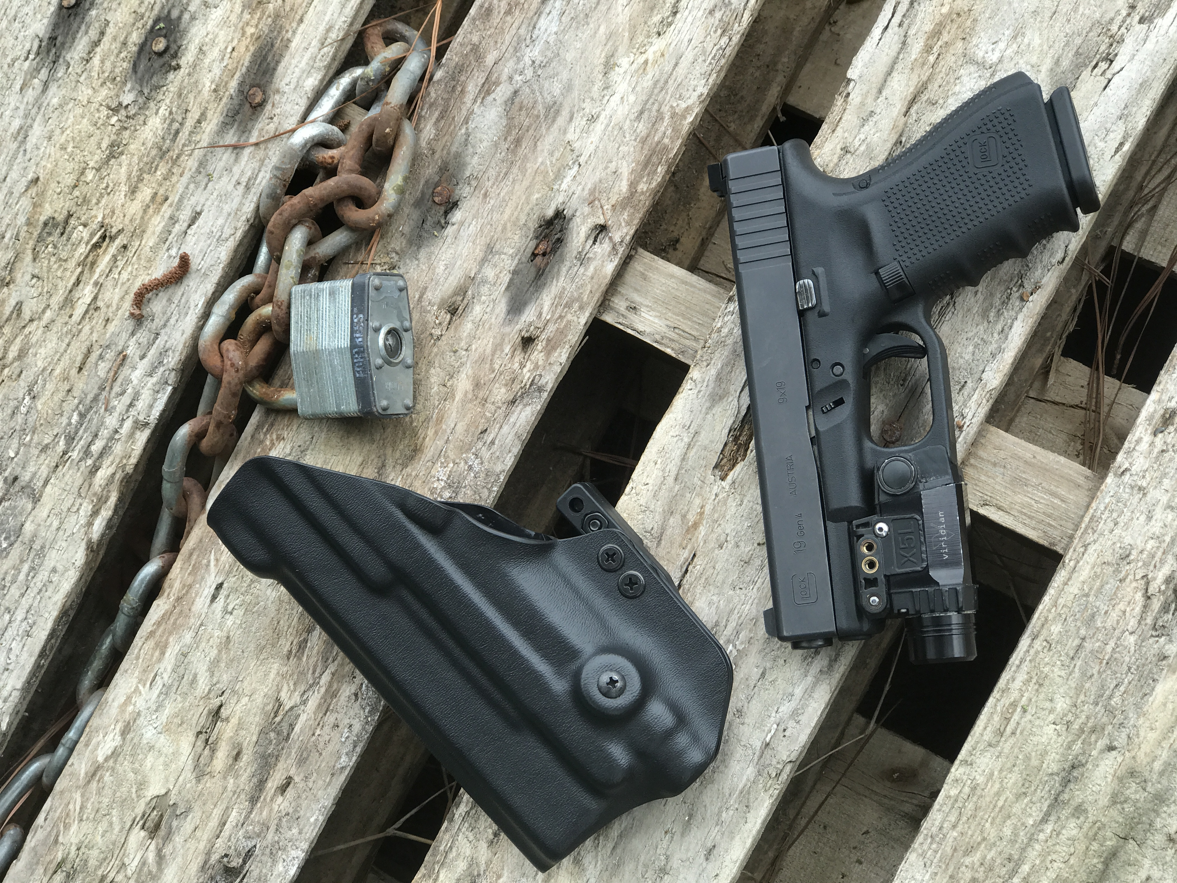 ECR capable AIWB Holster