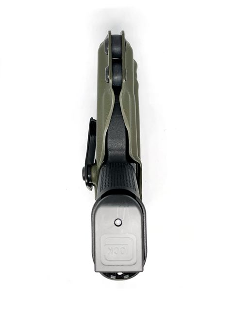 Glock 19 gen 5 with Olight Mini IWB Holster - DARA HOLSTERS
