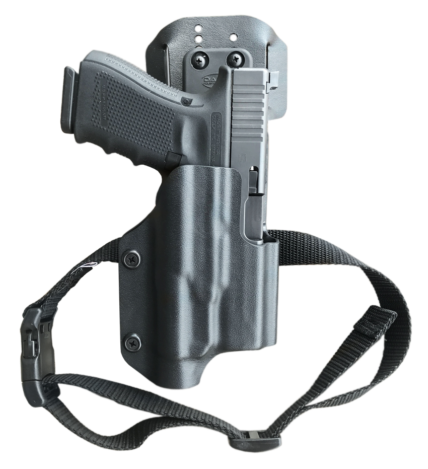 Light bearing Drop Offset Competition Holster