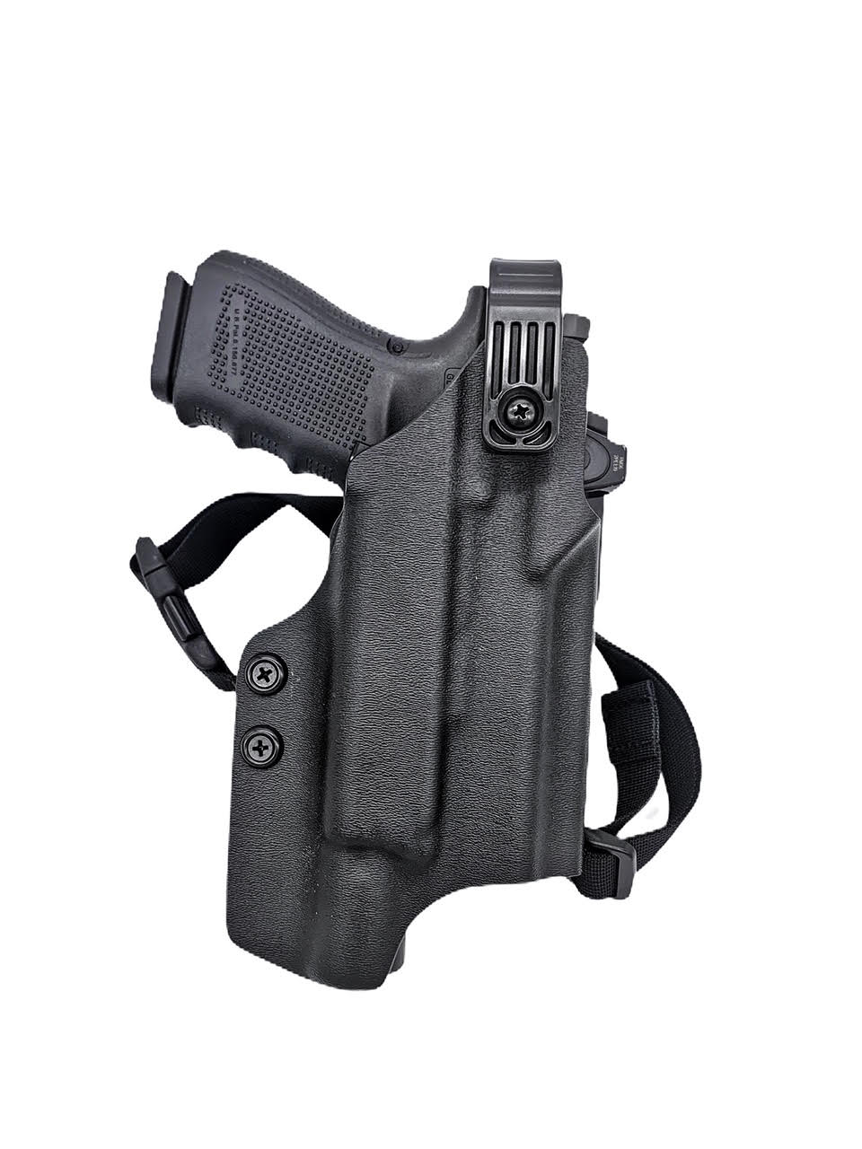 Level 2 Retention Holster for Light bearing Gun
