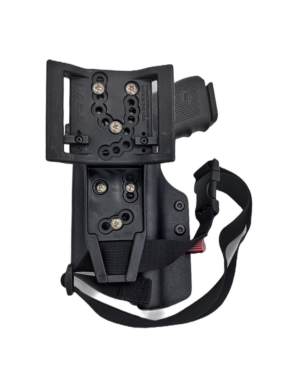 Level 2 Retention Duty Holster: Glock 19 + Surefire X300U-A