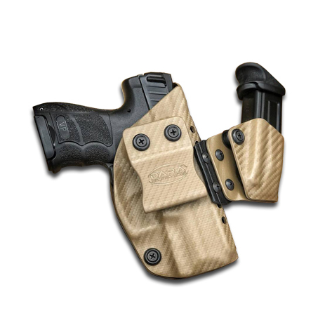 AIWB Holster + Mag Pouch with Wedge for Concealed Carry