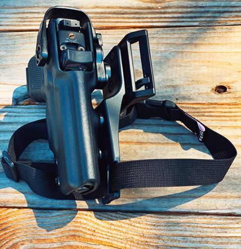 Optic cut Duty Holster Safariland