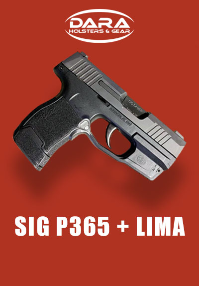 Sig P365 LIMA365 holster