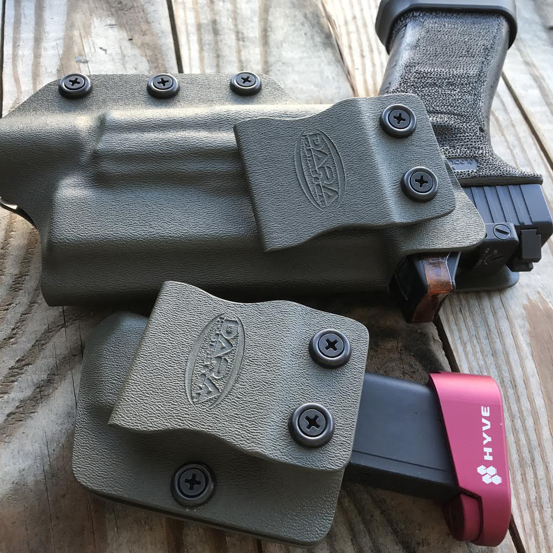 IWB Holster cut for Optic and Mag Carrier CCW Package
