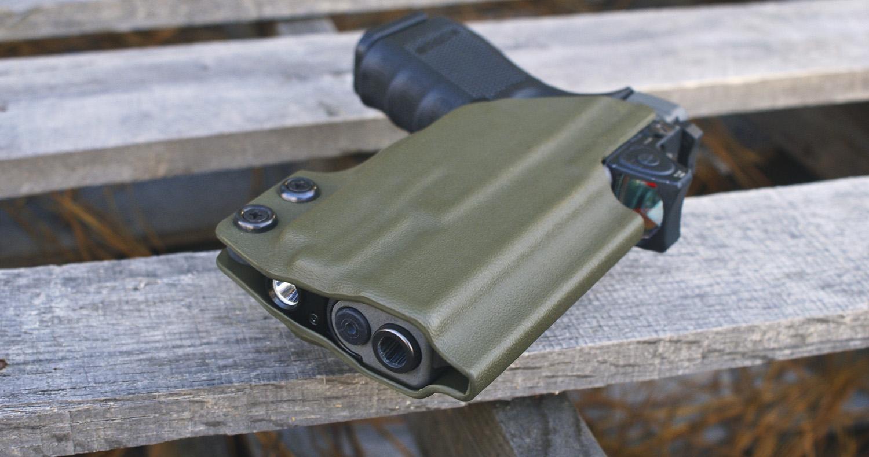 Glock 19 with O-Light PL-Mini - DARA HOLSTERS & GEAR