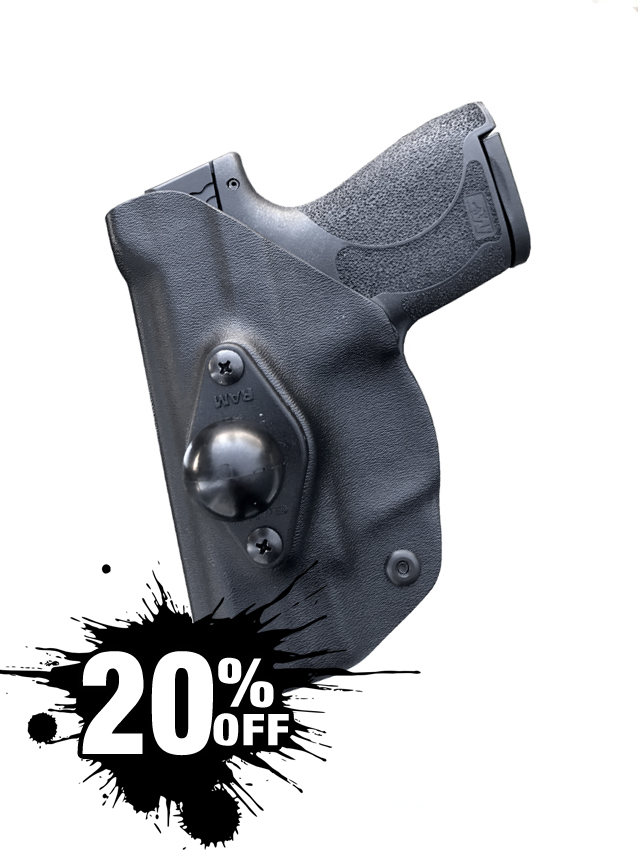 M&P Shield Mounted Vehicle Holster
