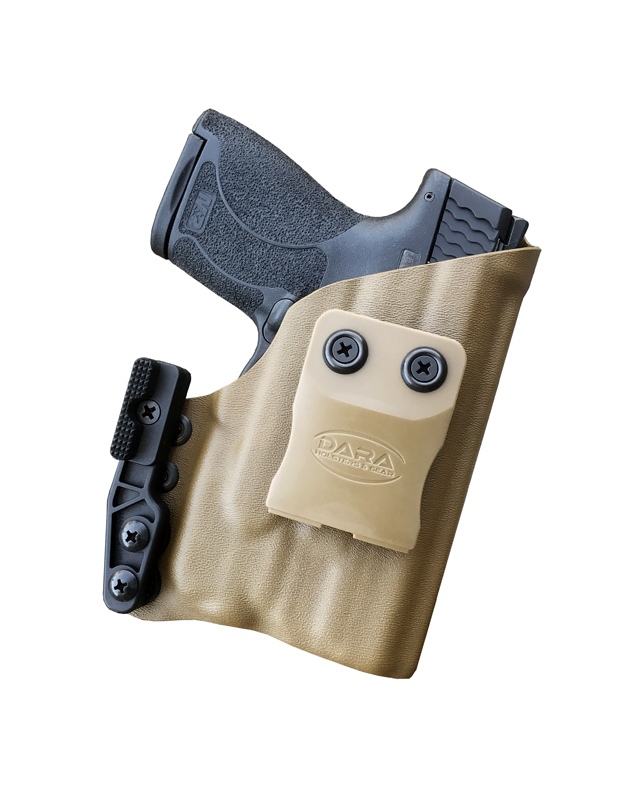 Light bearing AIWB Holster