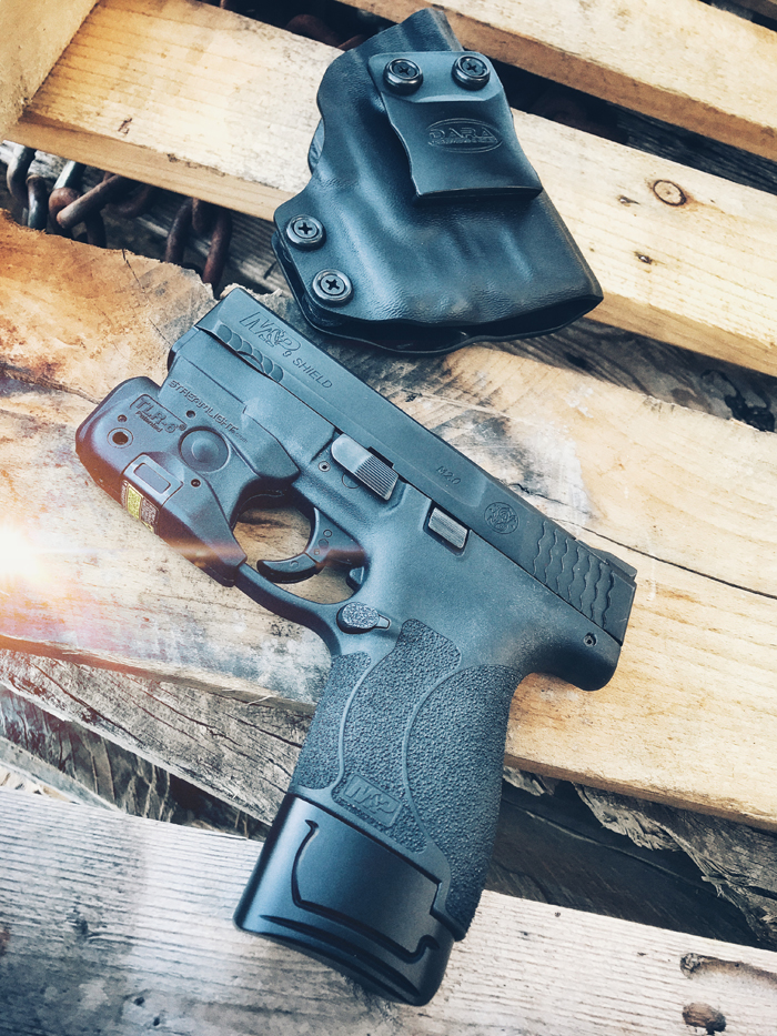 M&P Shield TLR-6 and IWB Holster Package