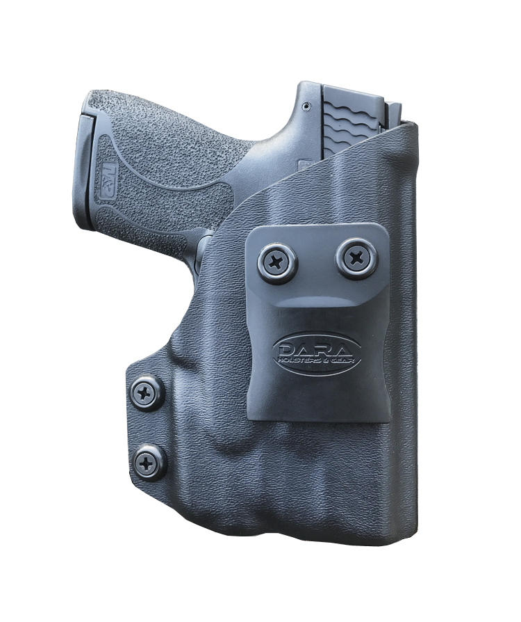 Shield with tLR-6 IWB Holster