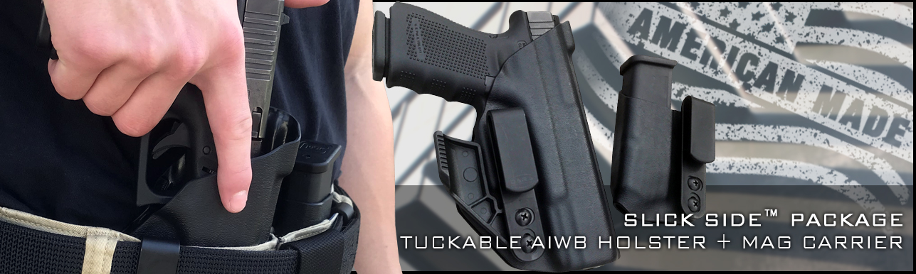Slick Side Holster and Mag Carrier