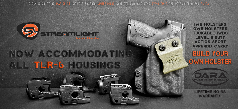 Streamlight TLR-6 Holsters - DARA HOLSTERS & GEAR