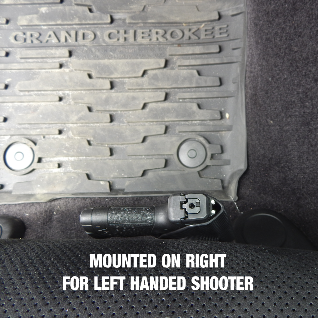 Tough-Claw Mounted Holster for Vehicle