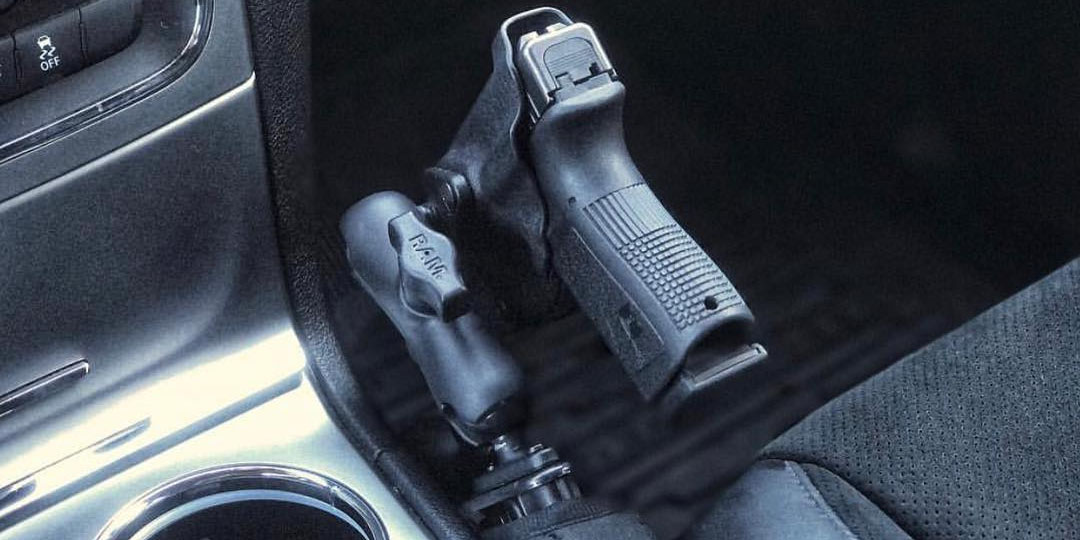 Vehicle Gun Holster